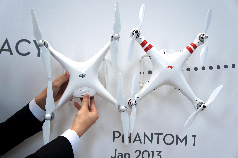 Phantom1とのサイズ比較